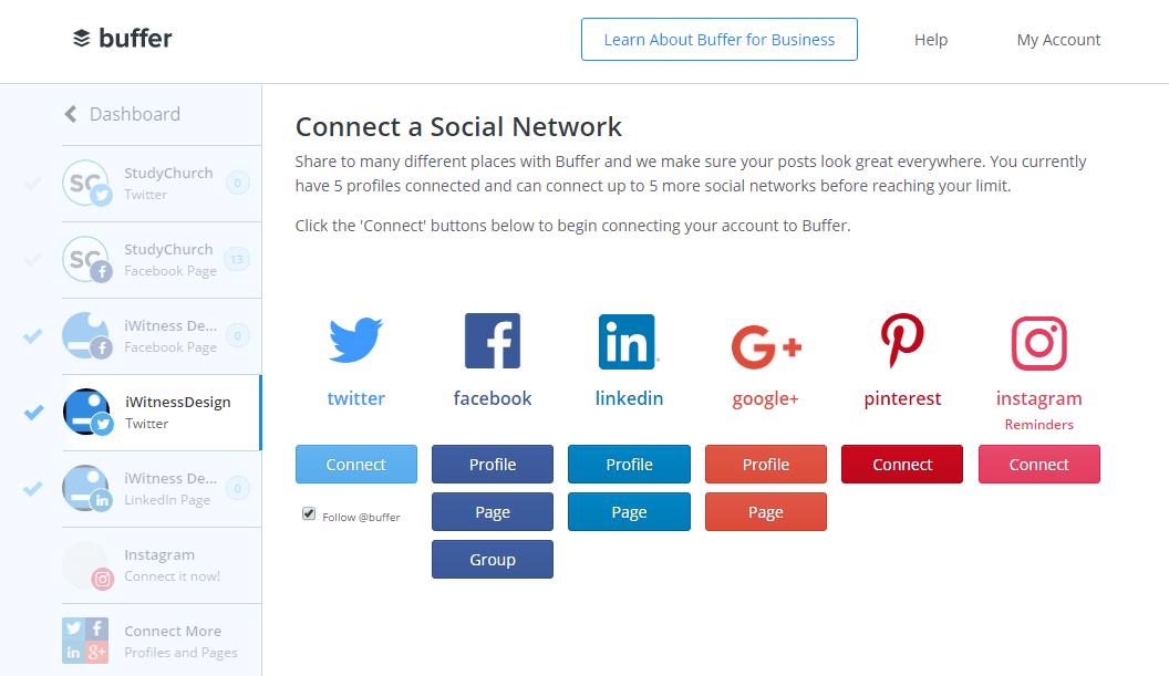 buffer social network