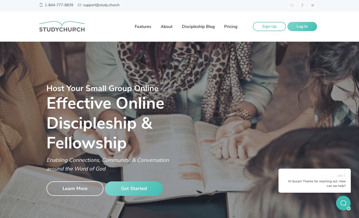 image of StudyChurch Homepage
