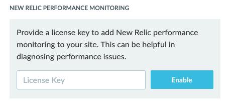 New Relic License Key