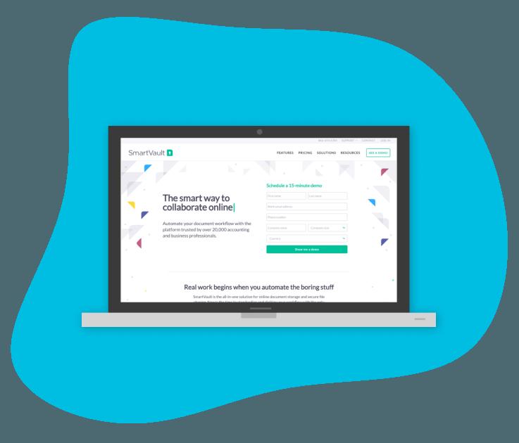 SmartVault Website